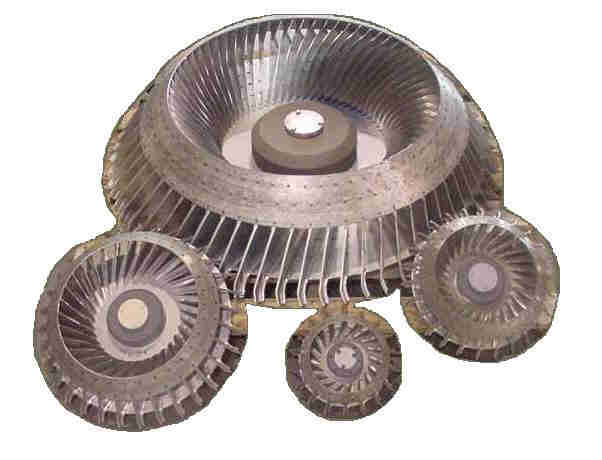 W Rotoclone Impeller